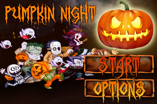 Halloween Pumpkin Night