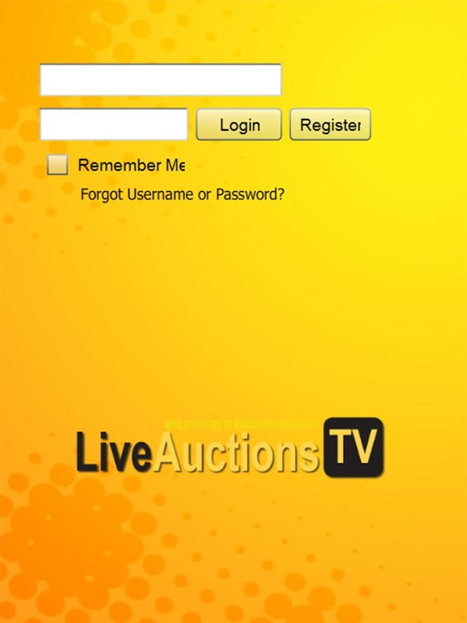 LiveAuctions.TV- screenshot