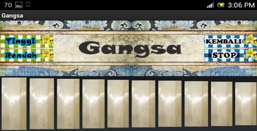 Gangsa Bali