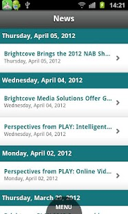 Brightcove App Cloud Workshop - screenshot thumbnail