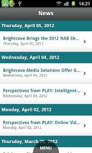 Brightcove App Cloud Workshop - screenshot thumbnail