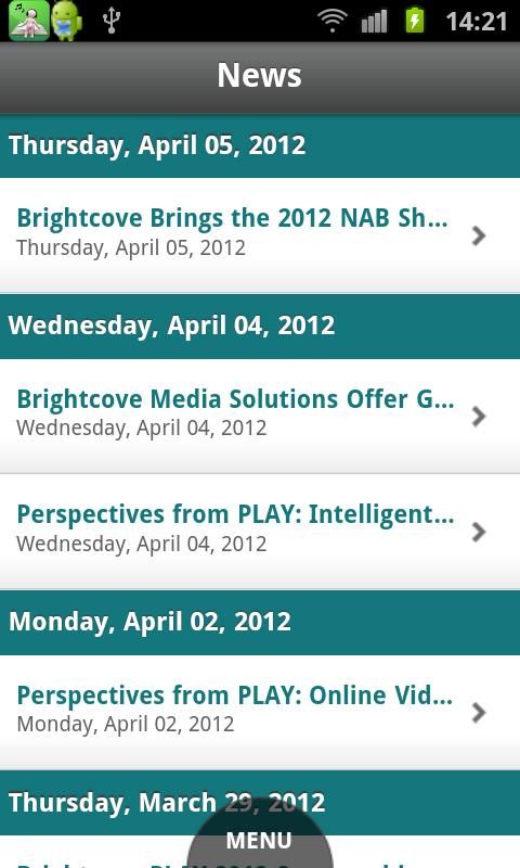 Brightcove App Cloud Workshop - screenshot