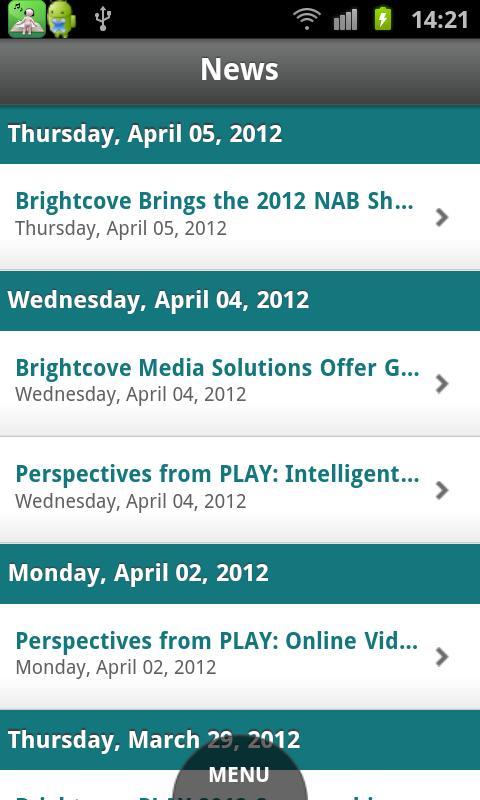 Brightcove App Cloud Workshop - screenshot