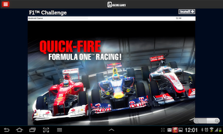 Racing Games Access For Tablet 1.0 screenshot 68218
