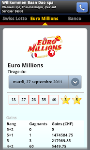 SwissLotto (Switzerland Lotto)- screenshot thumbnail