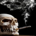 Puffing Skull Live Wallpaper icon