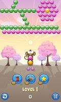 Screenshot of Bubble Monkey Valentine's Day!
