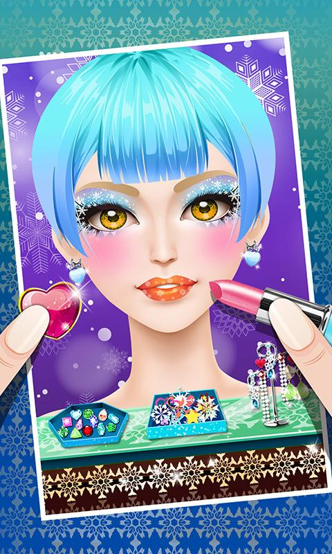 Ice Princess Fever Salon Game- screenshot