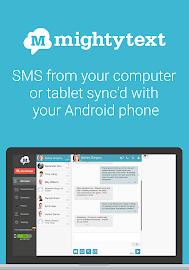 MightyText SMS Text Messaging Screenshot 1