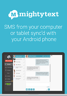 MightyText SMS Text Messages - screenshot thumbnail