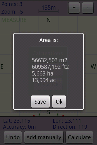 Area Calculator Free- screenshot