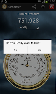 Barometer android apps on google play for Barometric pressure app for fishing