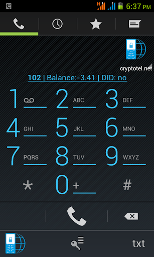 Cryptotel - Secure calls