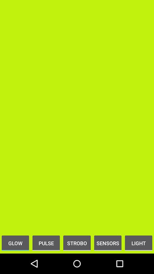 Blinking Flashlight- screenshot
