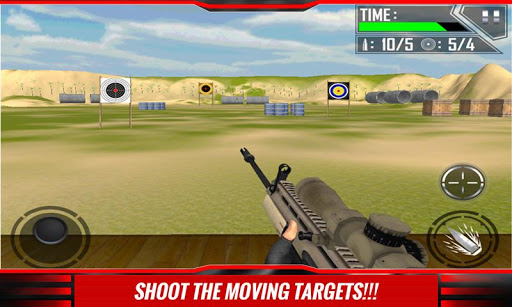Black Ops Shooting Range 3D