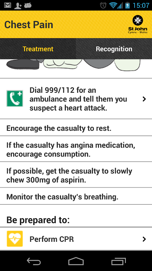 St John Wales First Aid- screenshot
