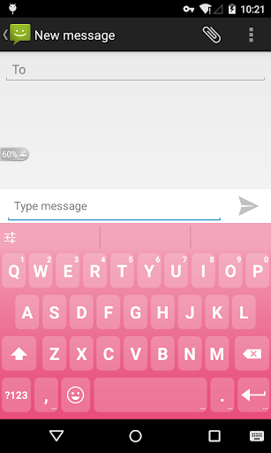 Emoji Keyboard - Macaron Pink