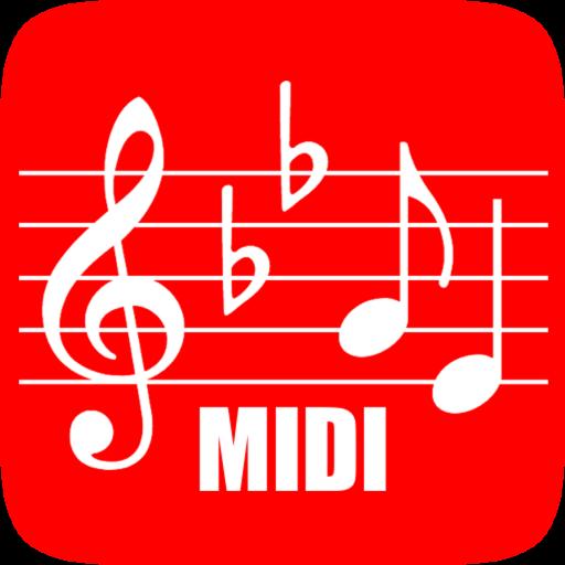 MIDI 樂譜 LOGO-APP點子