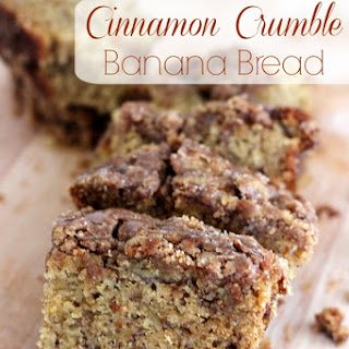 Cinnamon Crumble Banana Bread Recipe