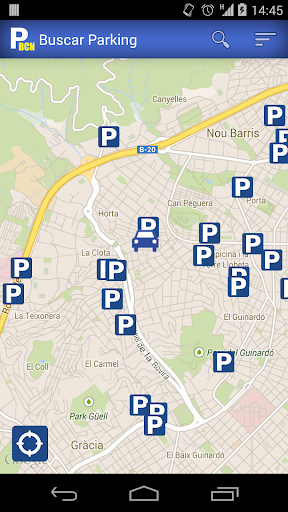 ParkingBCN - Barcelona parking