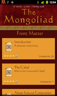 The Mongoliad - screenshot thumbnail