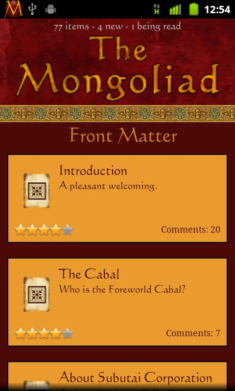The Mongoliad - screenshot