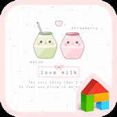 love milk dodol theme