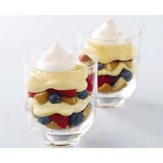 Berry Cheesecake Parfaits.