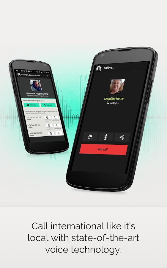 UppTalk Free Calls Text & Chat - screenshot