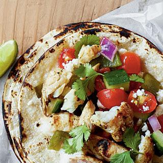 Poblano Fish Tacos.