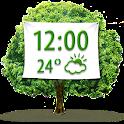 Nature Weather Clock Widget icon