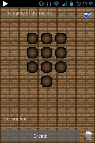 Block Story Recipe Editor - screenshot