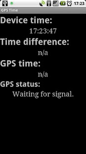 GPS Time- screenshot thumbnail