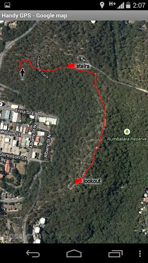 Handy GPS (free) 27.7 screenshots 3