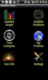 衛星檢查 - GPS狀態