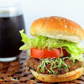 Tempeh & Black Bean Burgers