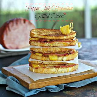 Pepper Jelly Hawaiian Grilled Cheese