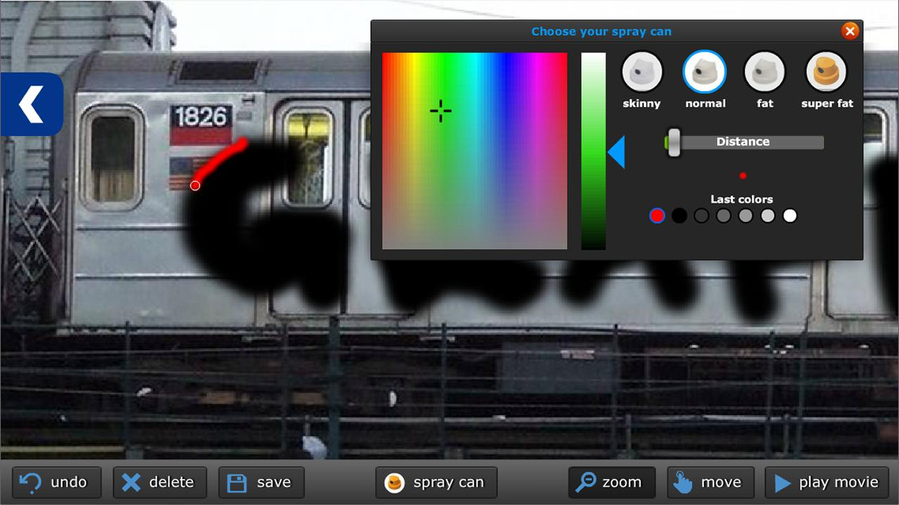 Graffiti creator on mobile - Graffiti Unlimited Screenshot