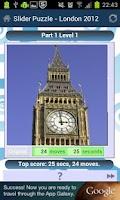 Screenshot of Slider Puzzle - London 2012