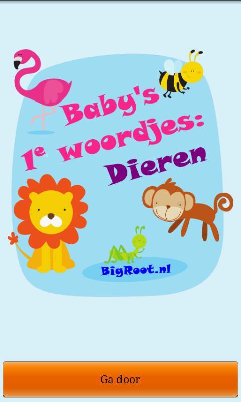 Baby peuter woordjes: Dieren *- screenshot