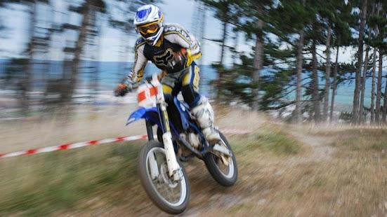motocross rider return