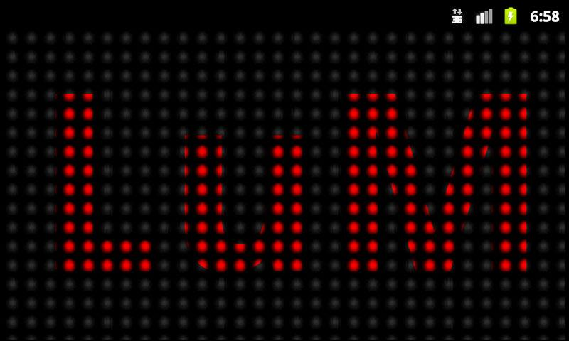 Banner LED Lite - screenshot