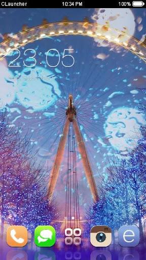 '倫敦眼'手機主題——暢遊桌面