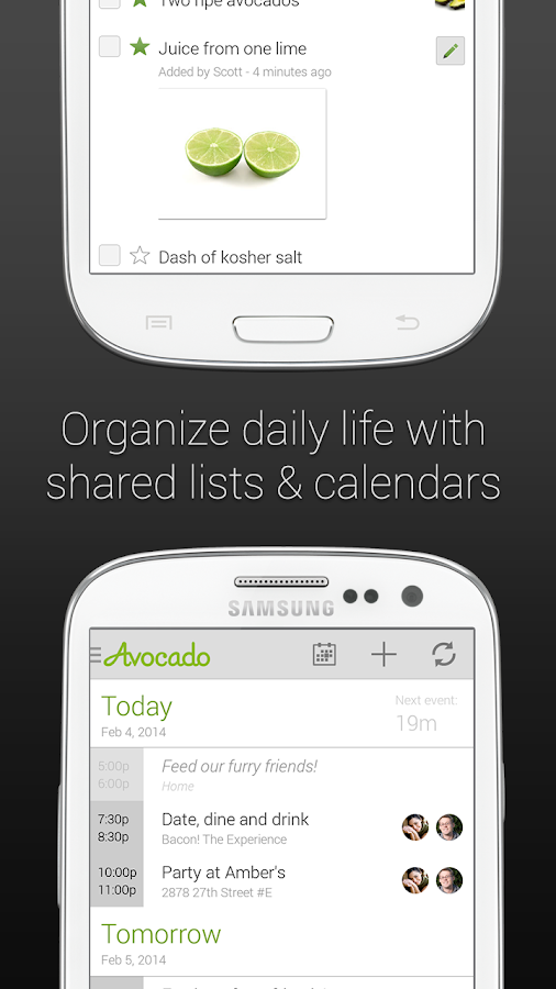 Avocado - Chat for Couples- screenshot
