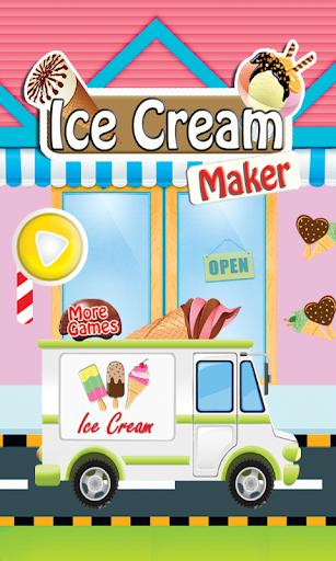 冰淇淋機女孩遊戲