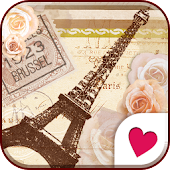Cute wallpaper★antique paris