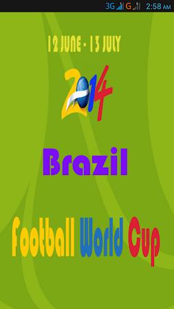 Football World Cup Live Score 1.6 screenshot 58201