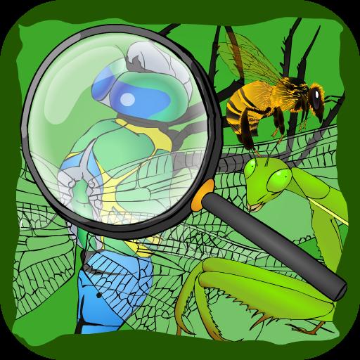 寻找隐藏的东西游戏:昆虫 休閒 App LOGO-APP試玩