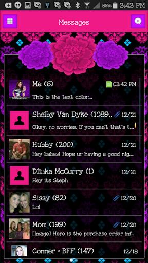 GO SMS THEME - SCS447