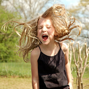 Crazy hair by Crystal Hulskotter - Babies & Children Children Candids